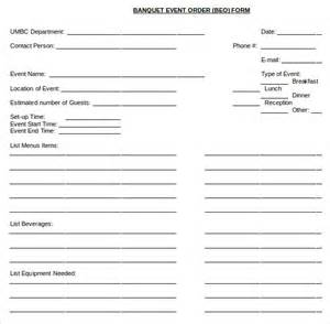 banquet event order form template event order form template pictures to pin on