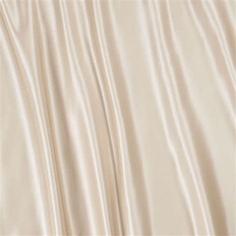 fabric for curtain duchesse satin oyster