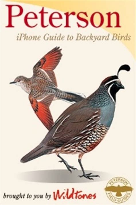 peterson backyard birds review peterson field guide to backyard birds for iphone