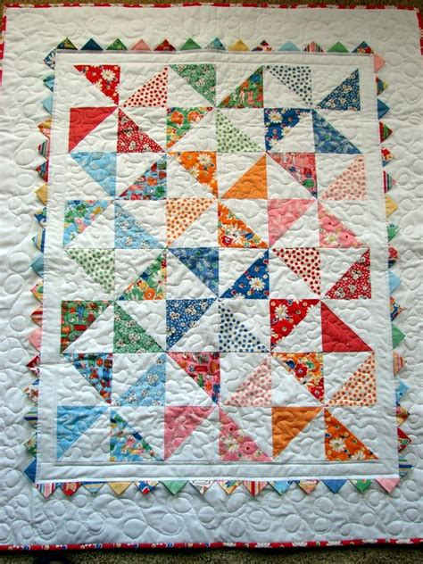 Pinwheels Quilt Shop by Quilt Create Pinwheel Baby Quilt