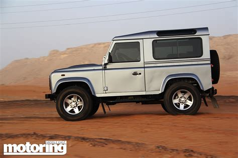 new land rover defender 2013 2013 land rover defender 90 review motoring middle east