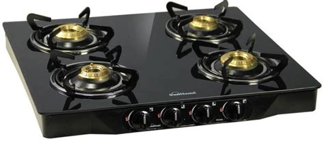 Termurah Selang Gas Original Top Gas sunflame pearl 4 burner glass top stainless steel glass manual gas stove price in india buy