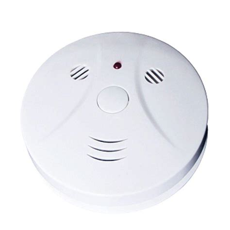 spt battery powered photoelectric smoke detector 15 531