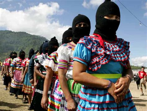 Imagenes Mujeres Zapatistas | mexico is not only chiapas nor is the rebellion in chiapas