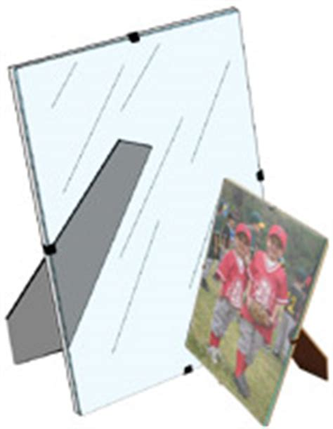 glass picture frames frameless magnetic promotional