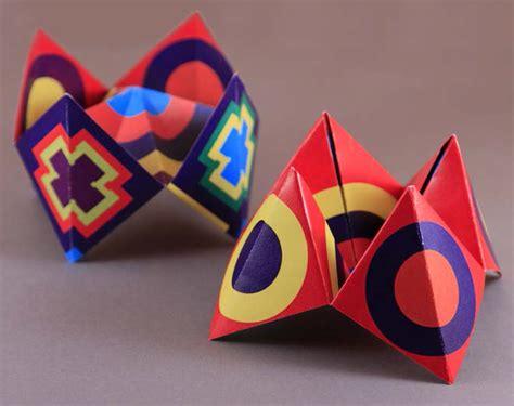 Origami Cootie Catcher - my origami kit joel paperworks