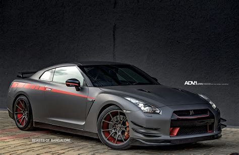 nissan gtr wrapped matte gray nissan gt r jotech 1 m v1 cs private design