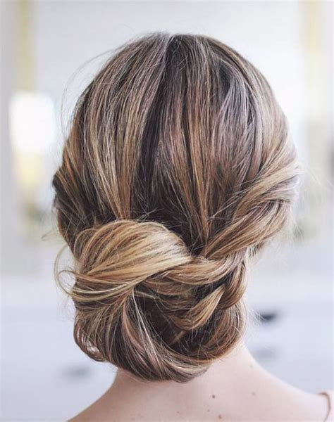 Wedding Hairstyles Updo Chignon by Low Chignon Wedding