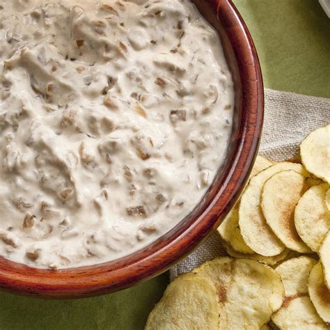 french onion dip recipe eatingwell