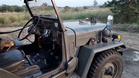 mitsubishi military jeep mitsubishi j25 japanese military jeep youtube