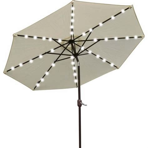 solar patio umbrella lights umbrella los angeles 9 solar power lighting