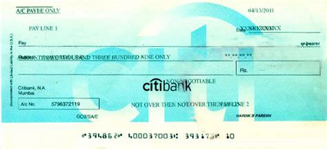Citibank Background Check The Gallery For Gt Citibank Sle Cheque