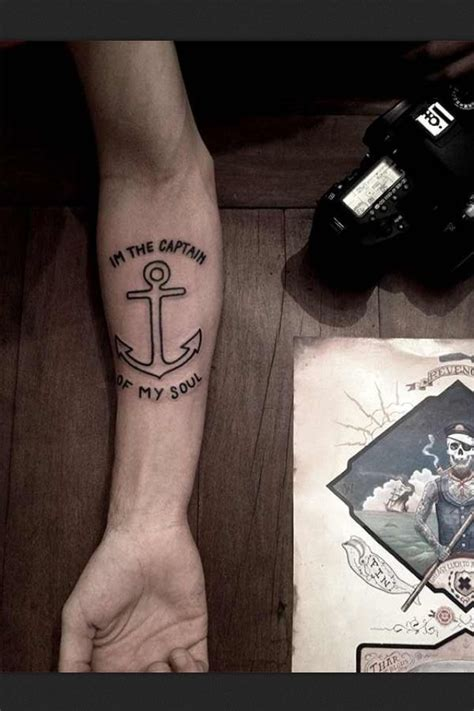 soul of tattoo i m the captain of my soul tattoo ideas pinterest