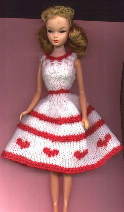 knitting pattern barbie clothes barbie s hearts around valentine dress barbie outfits