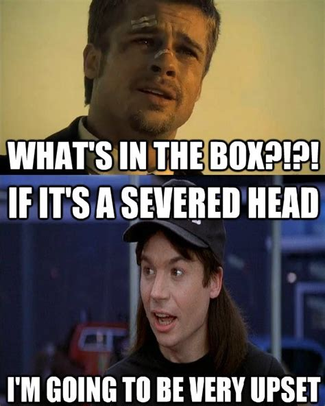 Brad Pitt Whats In The Box Meme