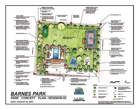 Fall Patio by Barnes Park Concept Plan Completed City Of Enderby