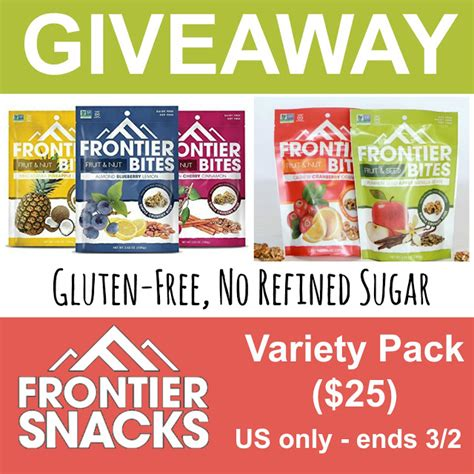 Nutrition Giveaways - giveaway chest of treasure to win 20170302 food giveaway gluten free snacks