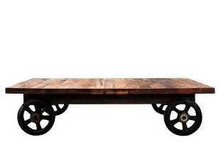 Coffee Table Wood District Eight Coffee Table In Reclaimed Wood