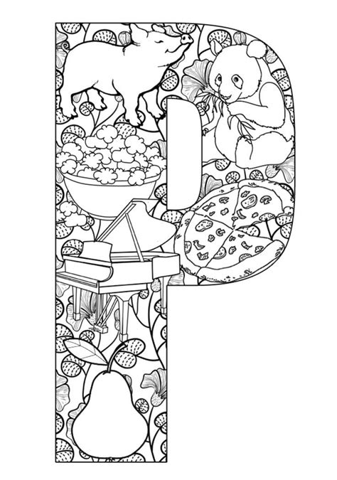 difficult alphabet coloring pages 1701 best images about coloring pages adult difficult on