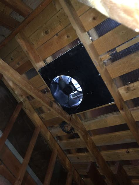 installing a gable vent fan attic fan sunrise solar attic fan this attic fan can also