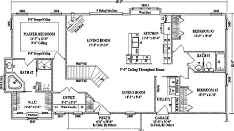 House Plans For Ranch Style Homes by Hamilton By Wardcraft Homes Ranch Floorplan