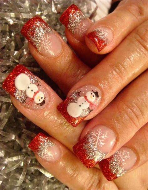christmas pattern nails 50 amazing and easy christmas nail designs and nail arts