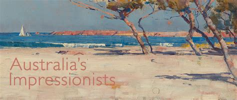 australia s impressionists exhibitions and displays the national gallery london