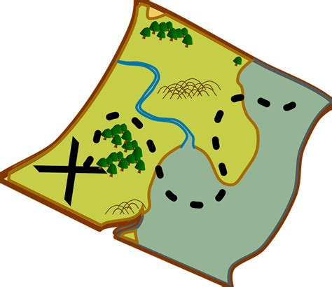 draw maps free treasure maps for year 7 printable clipart best