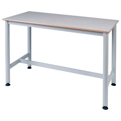 bench science proform school science bench solid laminate grey top with