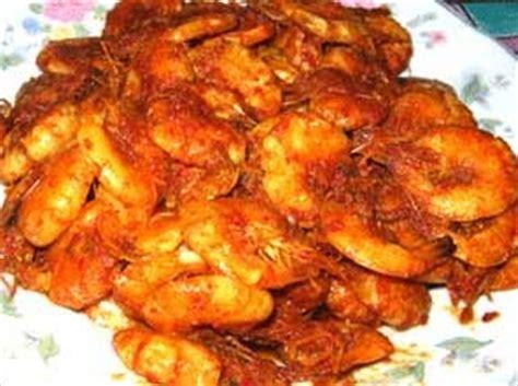 resep makanan indonesia resep udang bumbu kecap