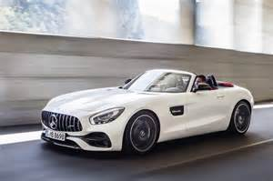 Mercedes Coupe Convertible Mercedes Amg Gt Roadster Gt C Roadster Revealed Photos