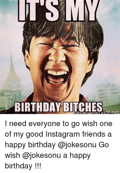 Happy Birthday Bitch Meme - 1548 funny happy birthday memes of 2016 on sizzle