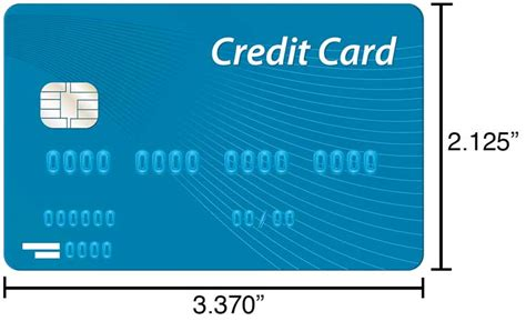 size of a credit card in inches how to measure without a measure or ruler inch