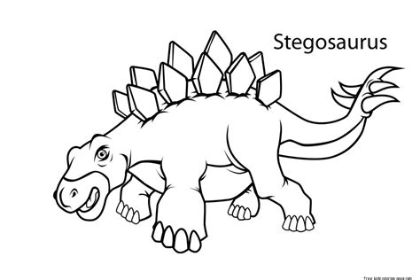 Coloring Pages For To Print by Printable Stegosaurus Dinosaur Coloring Pages For Kidsfree