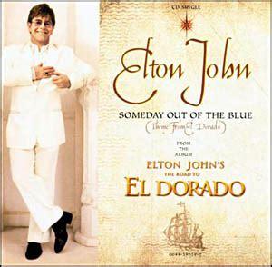 elton john el dorado the road to el dorado 엘도라도 by elton john single ost