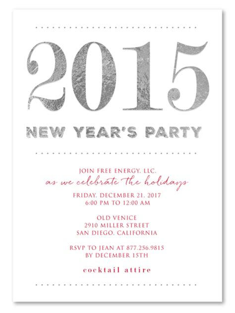 Invitation Letter Year End Sle Invitation Letter For New Year Infoinvitation Co