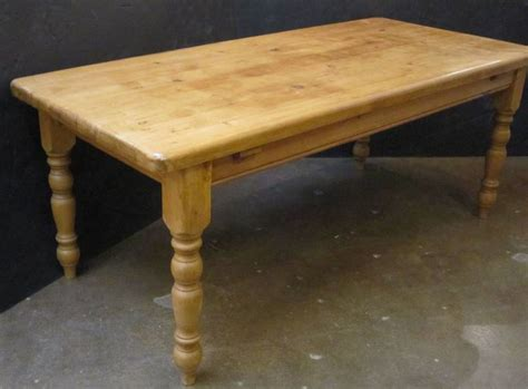 farm table of pine at 1stdibs