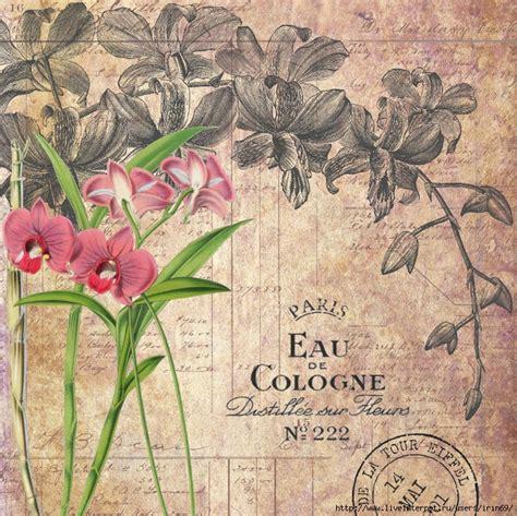 imagenes de laminas vintage mi baul del decoupage preciosos collages con flores