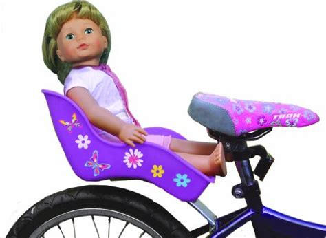 american bike seat doll bicycle seat quot ride along dolly quot bike seat purple