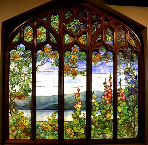 louis comfort tiffany stained glass windows conservation of a louis comfort tiffany stained glass