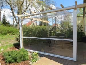 regenschutz terrasse regenschutz als markise rollo oder