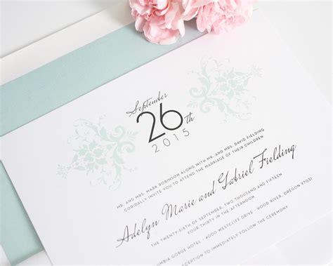 Damask Wedding Invitations by Purple Damask Wedding Invitations Wedding Invitations