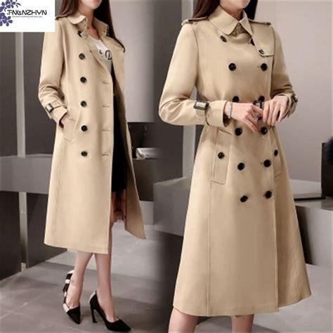 tnlnzhyn 2017 trench coat autumn korea new fashion