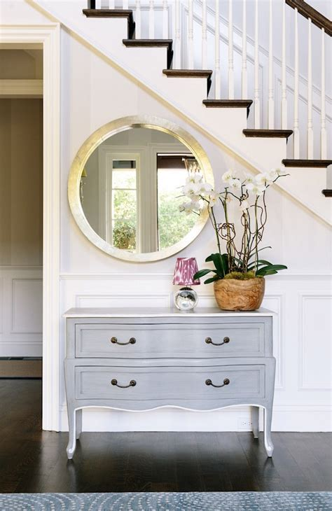 Entryway Dresser 18 Entryways With Captivating Mirrors
