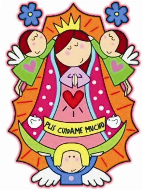 imagenes religiosas catolicas en caricatura im 225 genes de la virgen de guadalupe caricaturizadas