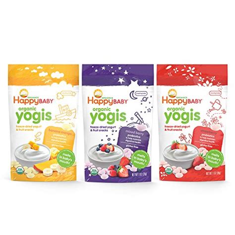 Happy Baby Melts Yogis Strawberry compare price to yogurt for baby dreamboracay