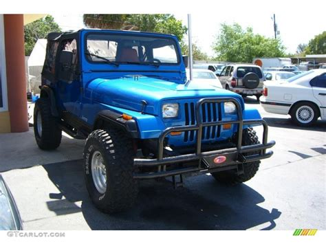 1988 spinnaker blue metallic jeep wrangler 4x4 32391927 photo 3 gtcarlot car color