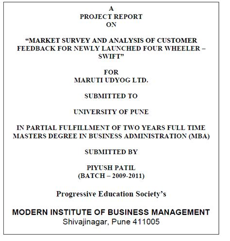 Mba International Business Project Reports Free by Project Report Writing Format For Students Uncategorized