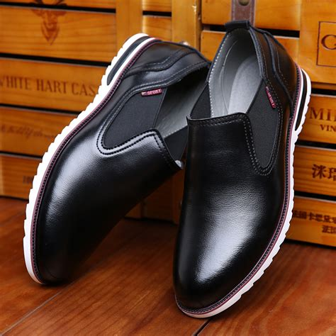 2016 Genuine Leather Fashion Men Casual Shoes New