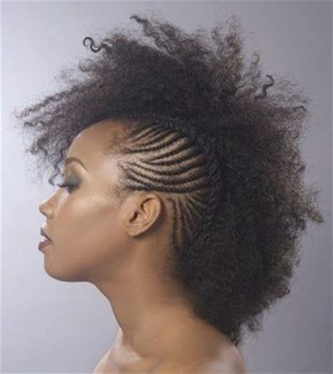 fro hawk hair cut natural frohawk black women natural hairstyles hair